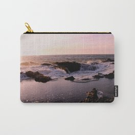 Thor's Well at Sunset Carry-All Pouch