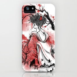Geisha dream iPhone Case