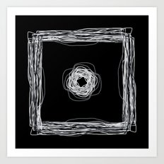 Particle In A Box Invert Art Print