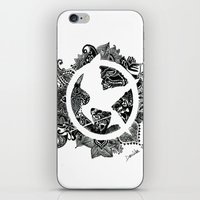 mockingjay iPhone & iPod Skins featuring Mockingjay by Sketches D.