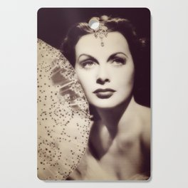 Hedy Lamarr, Hollywood Legend Cutting Board