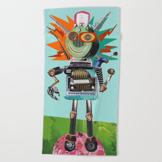Radio Robot by summerhouseart
