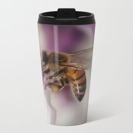 Worker Bee on Mexican Sage Travel Mug