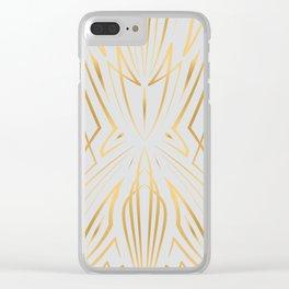 Pinstripe Pattern Creation XXXII Clear iPhone Case