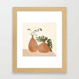 Two Living Vases Framed Art Print