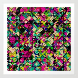 Crystal Cohesion Art Print