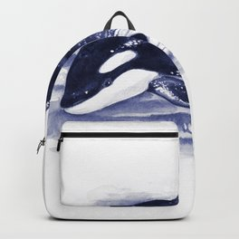Baby Orca Blue Backpack