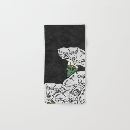 MARBLE FLOWERS (abstract) Hand & Bath Towel