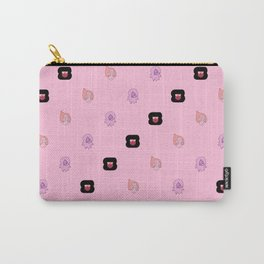 Crystal Gems Pattern Carry-All Pouch