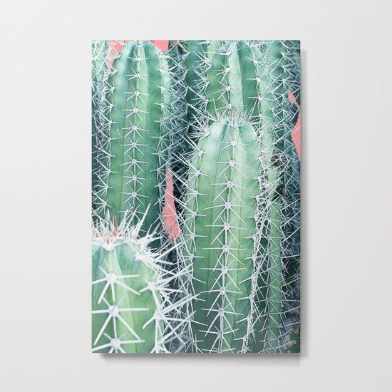 Cactus Up Close #society6 #decor #buyart Metal Print