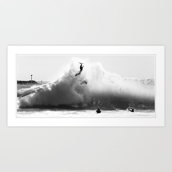 The Launch  Art Print