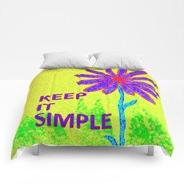 Wildflower Keep It Simple Comforters