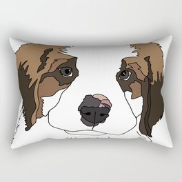Sully the sweet Saint Bernese Rectangular Pillow