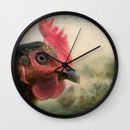'Hen Fatale!' Wall Clock