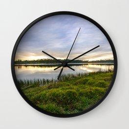Saint Lucie Nature Wall Clock