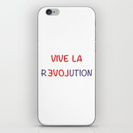 Vive La Revolution iPhone Skin
