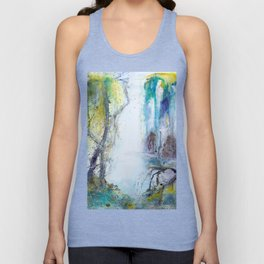 Deep in the forest Unisex Tank Top