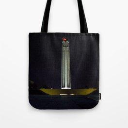 Liberty Memorial at Night Tote Bag