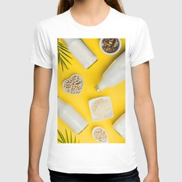 dairy free milk substitute drinks and ingredients T-shirt