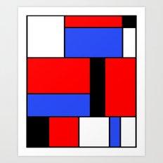 Abstract #558 Art Print