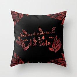 Viviamo il modo Throw Pillow