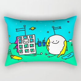 Waffle & Pancake Friends Rectangular Pillow