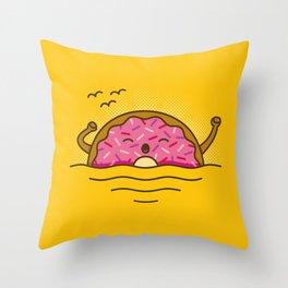 Good morning! - Cute Doodles Throw Pillow