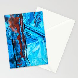 ice and lights Stationery Cards
