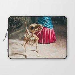 Skeleton dog Laptop Sleeve