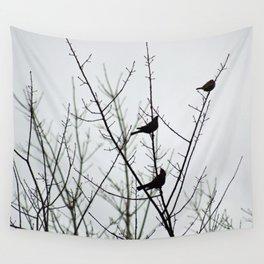Resting Birds Wall Tapestry