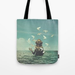 Aquatic Radioactive Tote Bag