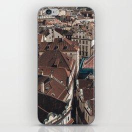 Prague Rooftop 03 iPhone Skin