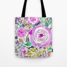 Jakarta Bouquet Floral Tote Bag