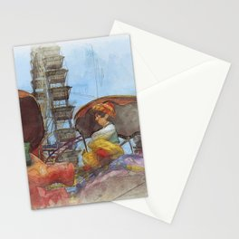 Munich Beer Festival - Flying Carpet & Ferris Wheel Stationery Cards
