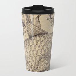 The Golden Fish (1) Travel Mug