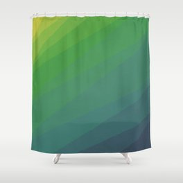 Shades of Deep Water Shower Curtain