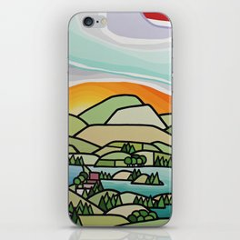 Lakes and Orchards iPhone Skin