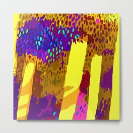 Abstract & Bright Metal Print