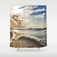 As Far As the Eye Can See Shower Curtain