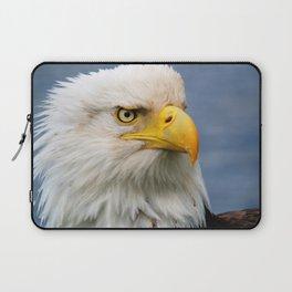American Bald Eagle Portrait Laptop Sleeve