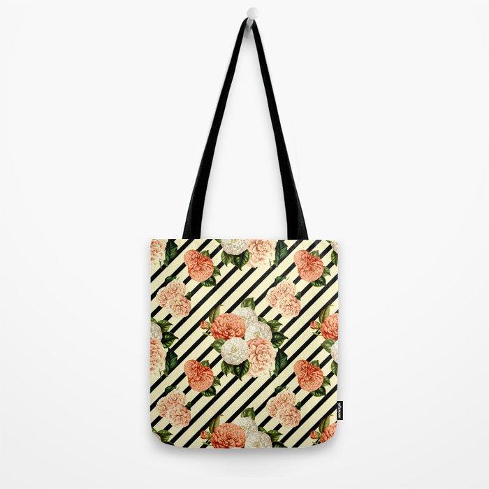 Chrysanthemum Rain Tote Bag