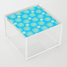 Daisies Galore Acrylic Box