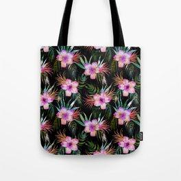Honolua Tropic Black Tote Bag