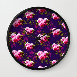 Cheerful Cherry Blossom Wall Clock