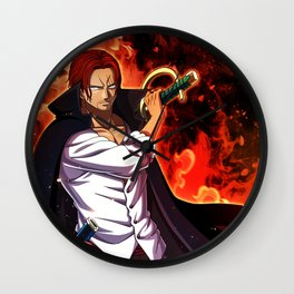 redhead Shanks - one piece Wall Clock