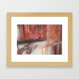 Acrylic Chaos Framed Art Print