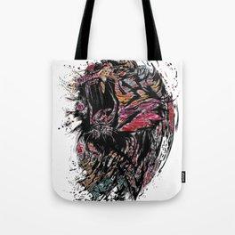 The Lion King Colorful Big Cat Face Design Tote Bag