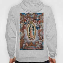 Virgin of Guadalupe, 1779 - Mexican Artwork Hoody