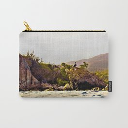 Caribbean Pelican Carry-All Pouch