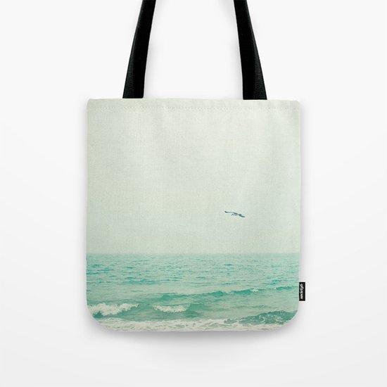 Lone Bird Tote Bag